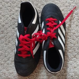 Adidas cleats for boys size two and a half